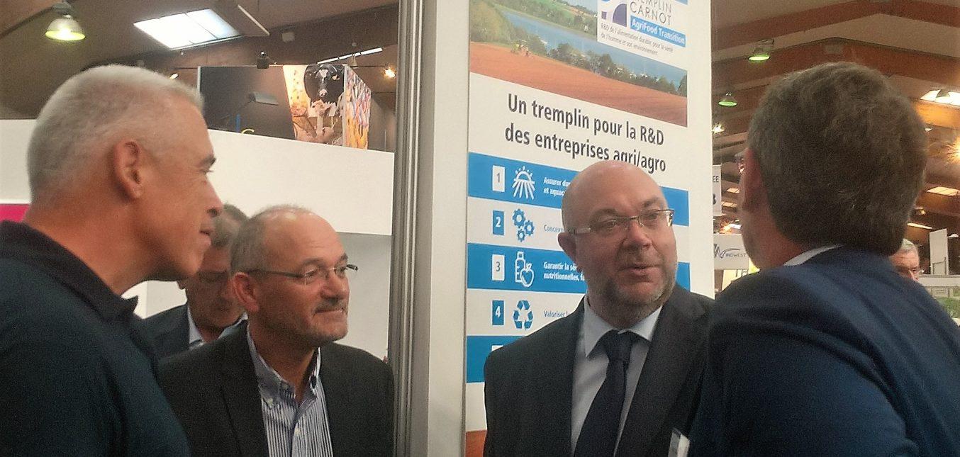 AgriFood Transition présenté au ministre de l'agriculture