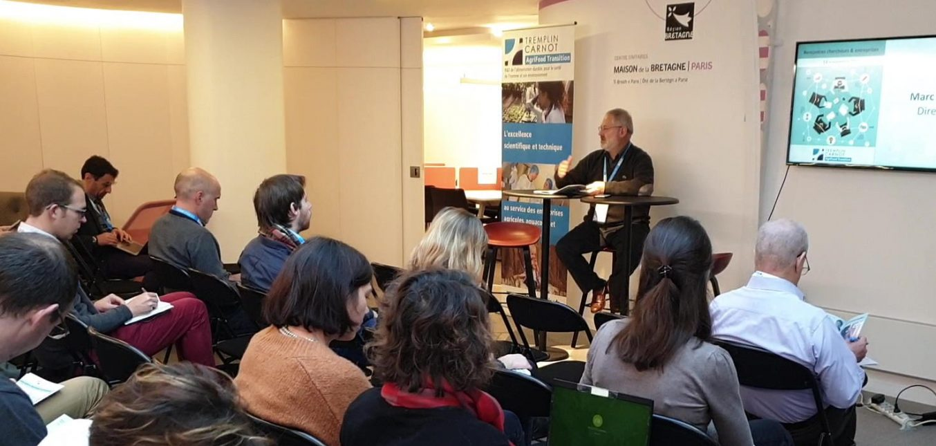 Rencontres chercheurs entreprises - Paris